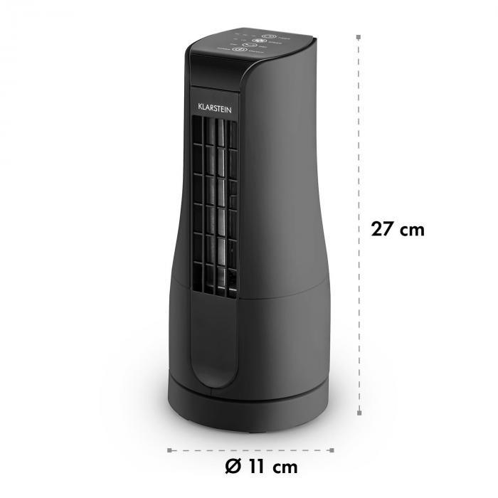 Skyscraper Office Ventilatore da Tavolo 16W Touch Nero