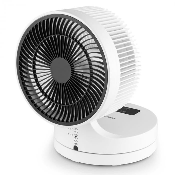 Touchstream ventilateur de table silencieux 25cm 3 vitesses blanc blanc electronic star fr - Ventilateur de table silencieux ...