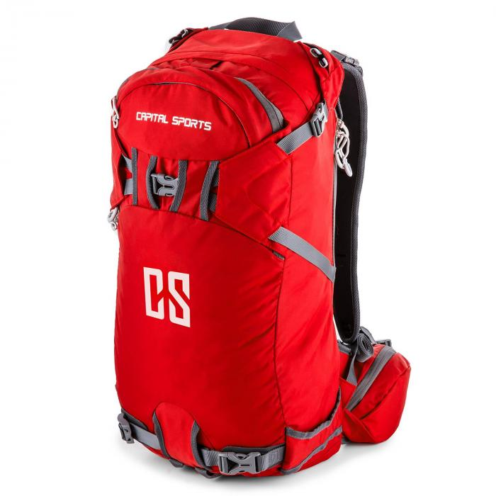 CS 30 Red Backpack Sports Leisure 30l Waterproof Nylon Red
