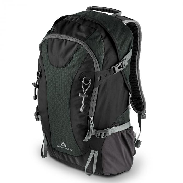 Ridig Mochila de escalada 38l impermeable nailon negro