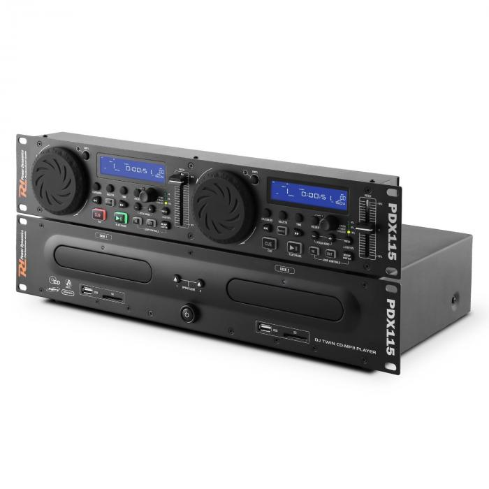 PDX115 Doppio lettore controller CD DJ UBS MP3
