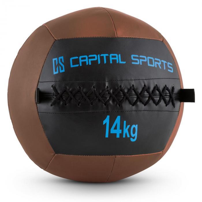 Epitomer Palla Medica Wall Ball da 4 a 14 kg in Similpelle