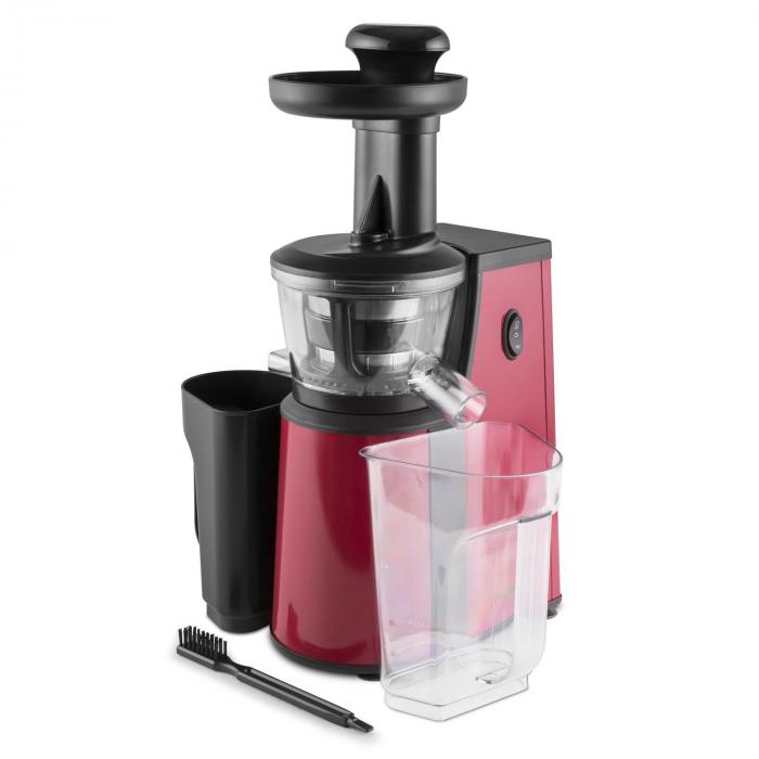 Jimmie Andrews SlowJuicer Estrattore di Succhi 400W Rosso