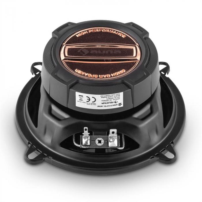 MD-170-BT Car-Hifi-Set Bilradio + 4-Vägs-Bil-Högtalare MP3 USB SD BT
