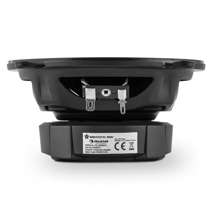 CS213c 2.0 Car Hifi Set | 2-Way Speaker | 4-Channel Power Amplifier 4x30W