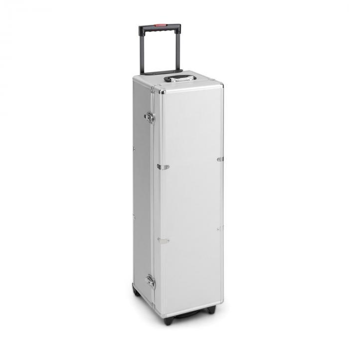 PSKC100 taitettava heijastus valkokangas 254cm 100 tuumaa alumiini vedettävä laukku