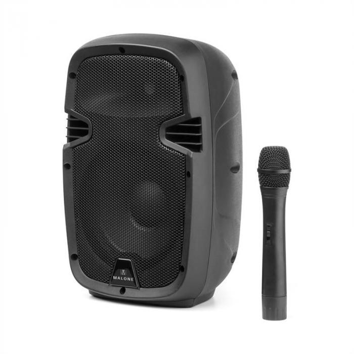 Bushfunk 20 Altoparlante PA Attivo 400W Bluetooth Batteria USB SD MP3 VHF