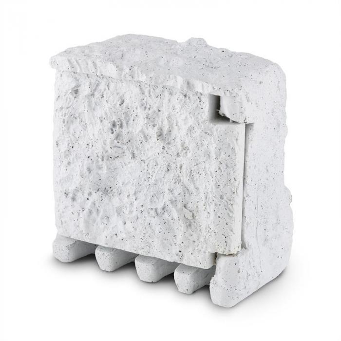Timer Rock ulkopistorasia 2-osainen haaroitusrasia 10 m ajastin pistorasiakivi