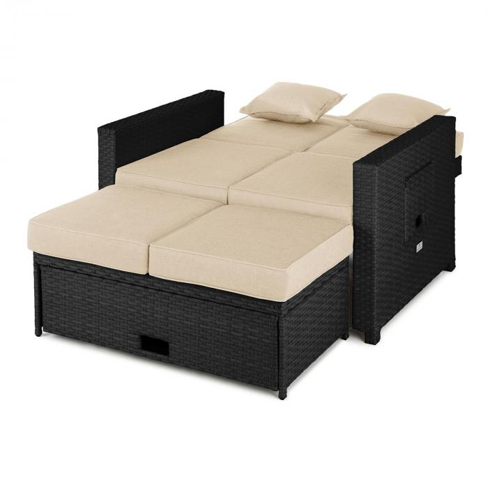 elektronik star at komfortzone rattan lounge sofa. Black Bedroom Furniture Sets. Home Design Ideas