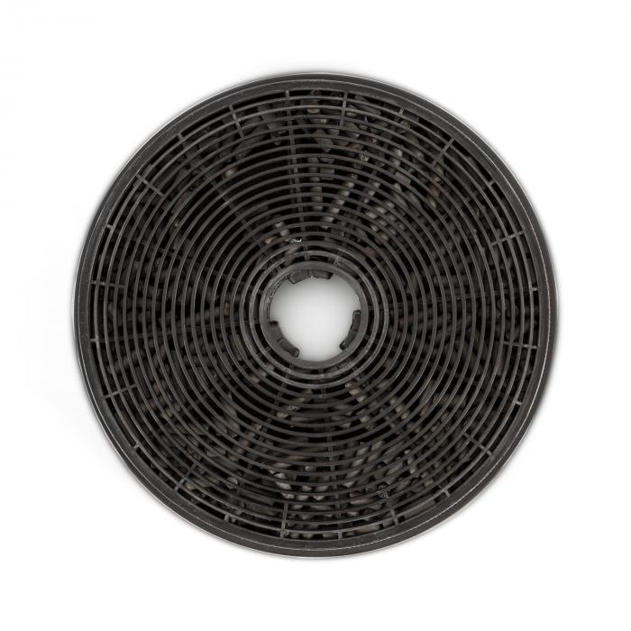 Zelda Cappa Aspirante 60 cm Set di Ricircolo 620 m³/h Filtro a Carbone Attivo