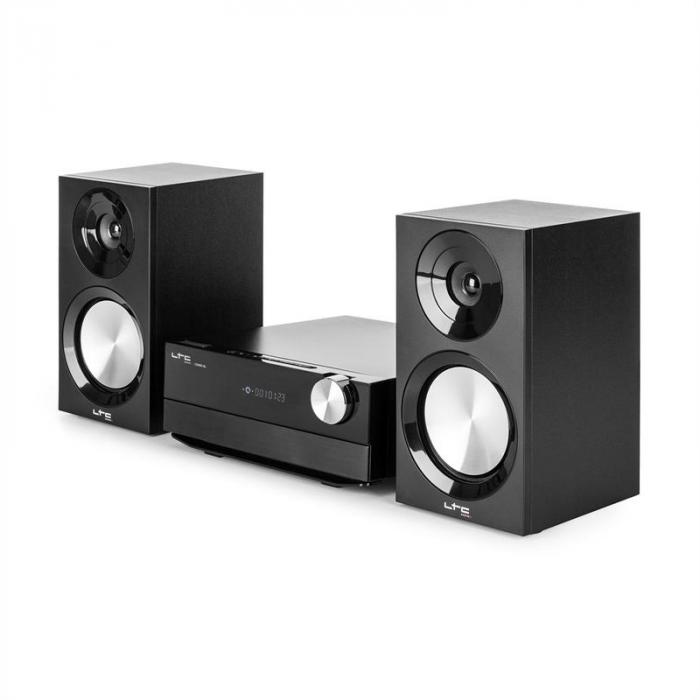 cdm90 bl micro hifi stereoanlage 40w bluetooth usb cd ukw. Black Bedroom Furniture Sets. Home Design Ideas