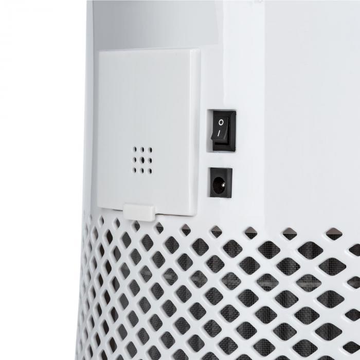 Arosa Purificador de Ar Ionizador Lâmpada UV Modos automático e Sleep Branco