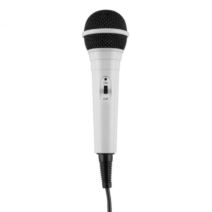 KaraBanga Impianto Karaoke Microfono Display TFT 4,3'' Bluetooth bianco
