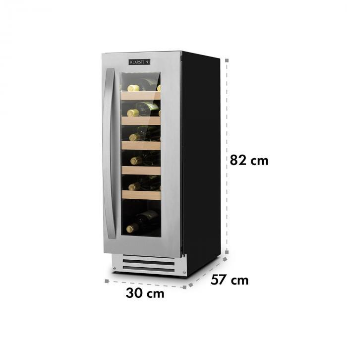 vinovillasmart weink hlschrank 50l 20 flaschen glast r. Black Bedroom Furniture Sets. Home Design Ideas