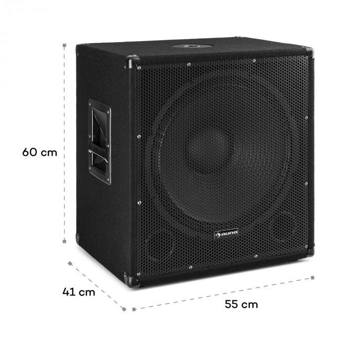 sub 18a aktiv pa subwoofer 1000 watt 18 46 cm 1000 w. Black Bedroom Furniture Sets. Home Design Ideas
