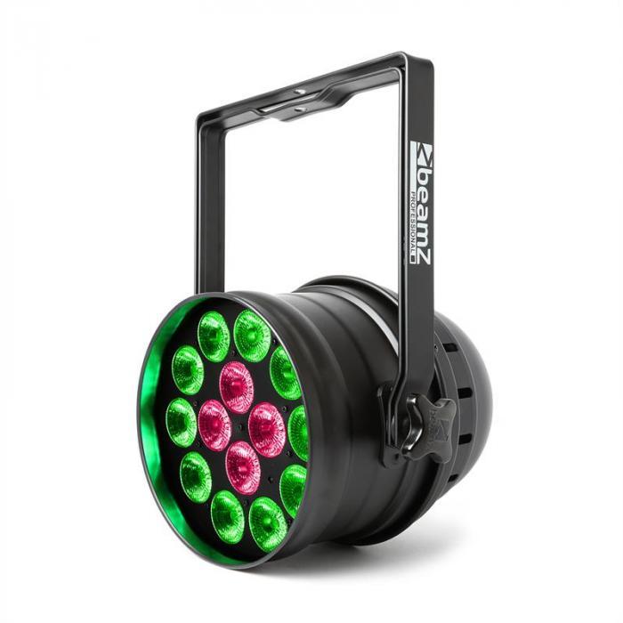 BPP225 PAR 64 LED-strålkastare 6in1 LEDs RGBWA-UV 200W svart