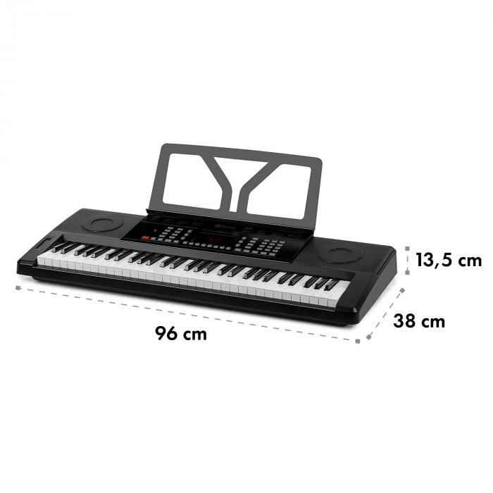 Etude 61 MK II Keyboard 61 Keys for 300 Sounds/Rhythms black