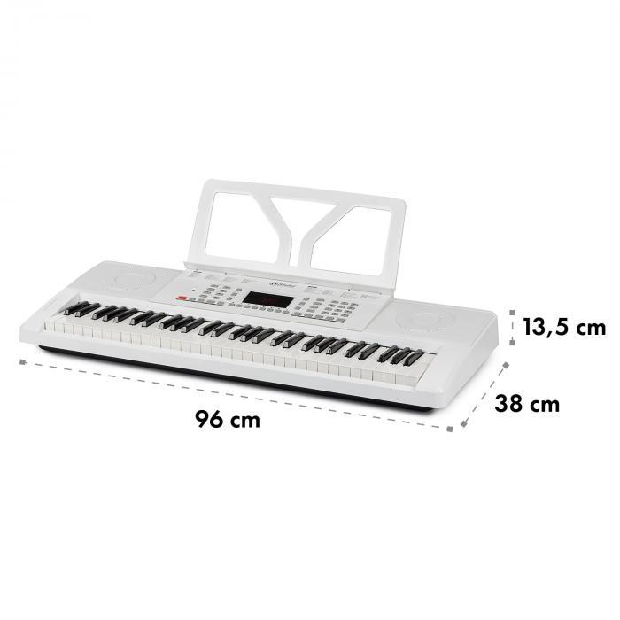 Etude 61 MK II Keyboard 61 Keys for 300 Sounds/Rhythms white