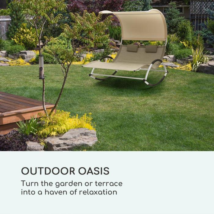 Brentwood puutarhakeinusetti + tasku aallonmuotoinen ComfortMesh
