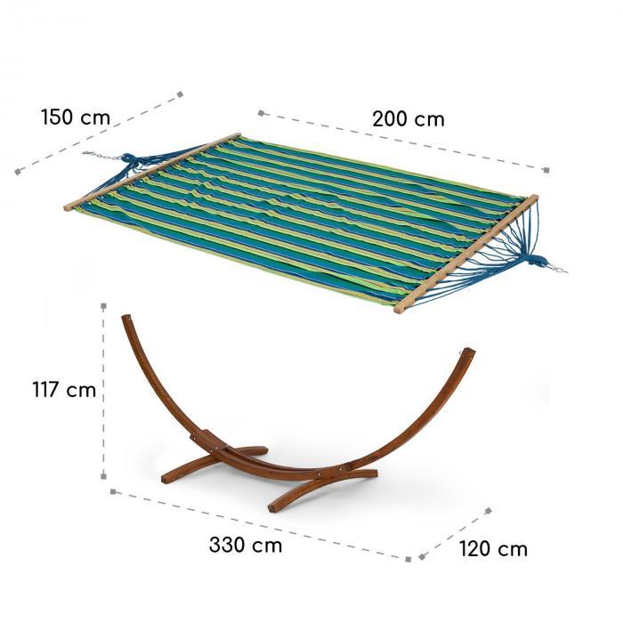 Bali STP Swing hamaca alerce 160 kg máx. a rayas