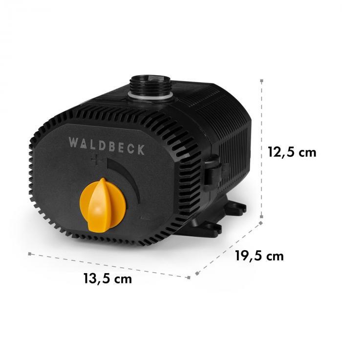 Nemesis T60 uppopumppu 60w teho 3,3 m nostokorkeus 4700l/h vedenkierto