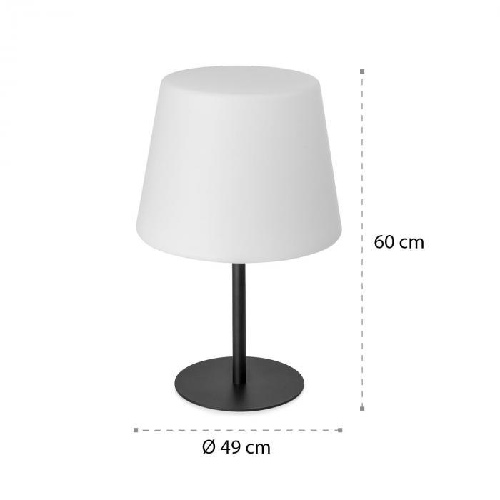 Moody TT Lampe IP65 PE-Lampenschirm E27 max.25W