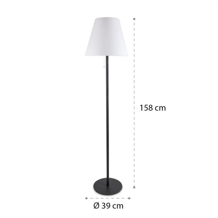 Moody Solar ST Lampe solarbetrieben IP65 PE-Lampenschirm