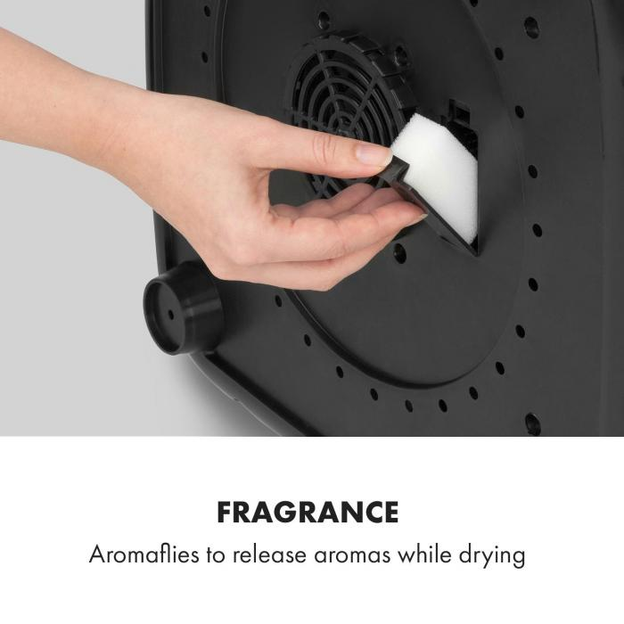 Zap Dry -kuivausrumpu 820 W 50 l kosketuskäyttöpaneeli LED-näyttö vihreä