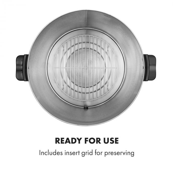 KonfiStar 40 Digital Automatic Preserving Cooker Beverage Dispenser 40L 100 ° C 180min