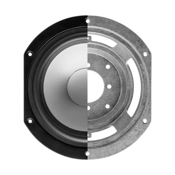 Reference 802 2-tie hyllykaiutinpari valkoinen sis. suojus hopea