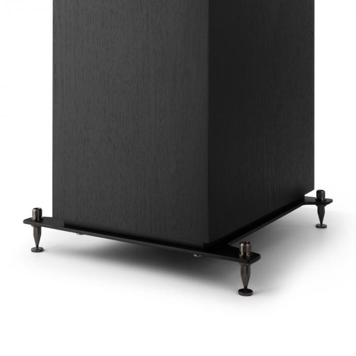 Reference 801 Coppia Diffusori da Pavimento a Tre vie nero inclusa Cover nera