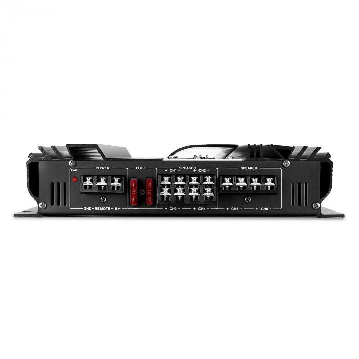 CS-Comp-12 Set Impianto HiFi Per Auto | Altoparlante Set Completo | Amplificatore A 6 Canali 570W RMS