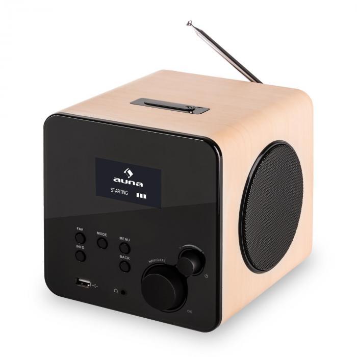 Radio Gaga Internetradio WLAN/LAN DAB/DAB Acero