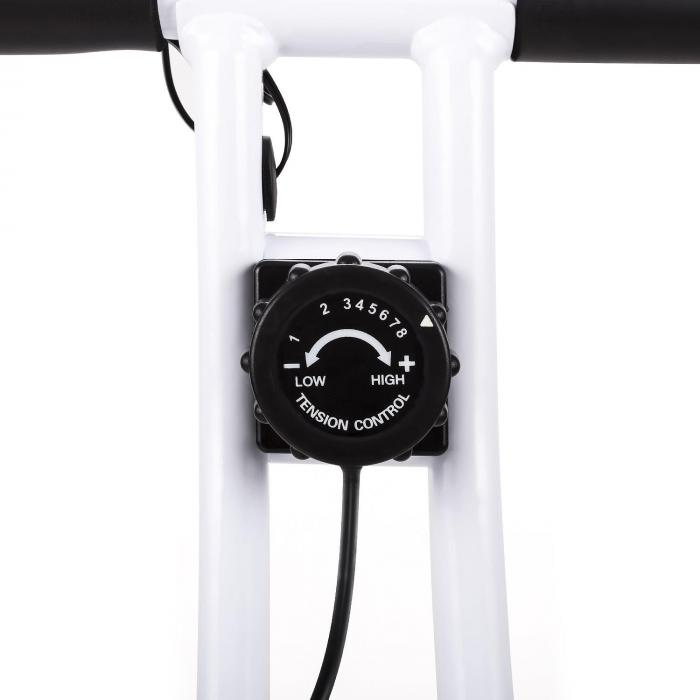 Azura Confort Cyclette Schienale Pieghevole 100kg