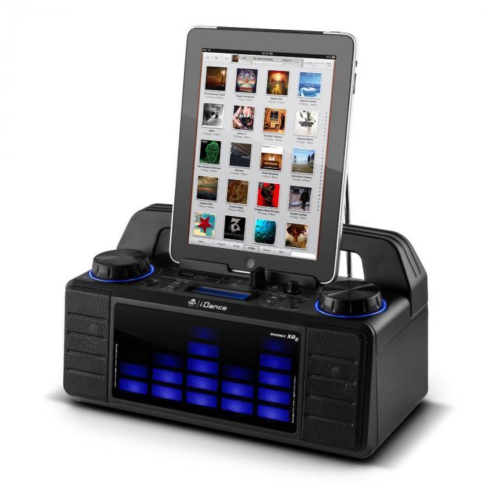 Energy XD2 kaiutinjärjestelmä fader mikseri Bluetooth USB MP3