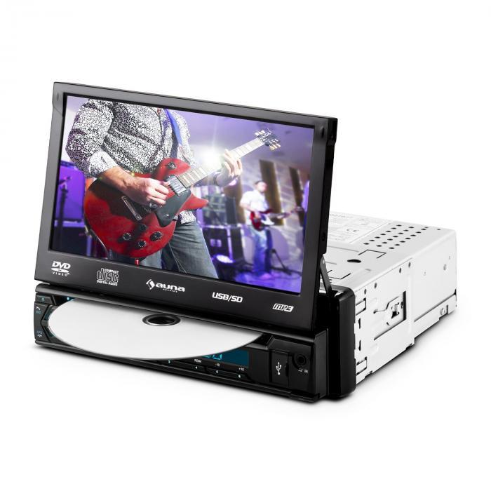"MVD-320 Autoradio 17,8cm (7"")-Touchscreen Bluetooth DVD USB SD UKW"
