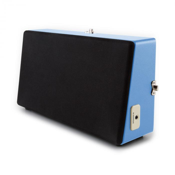 buckingham retro koffer plattenspieler lautsprecher aux blau online kaufen elektronik star de. Black Bedroom Furniture Sets. Home Design Ideas