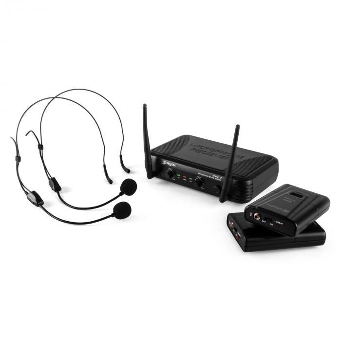 STWM712H Micro VHF radiomikrofonisetti 2 x headset