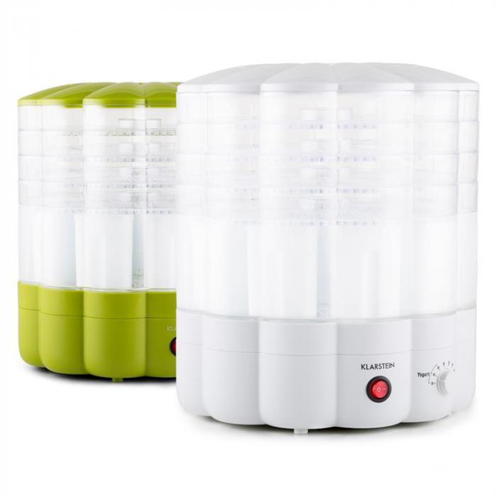 Yofruit Essiccatore 5 Ripiani Con Macchina per Jogurt Bianco