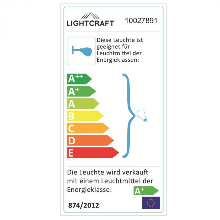 Kvalfoss 1 Wall Ceiling Spot Lamp LED Rotatable Swivel Chrome