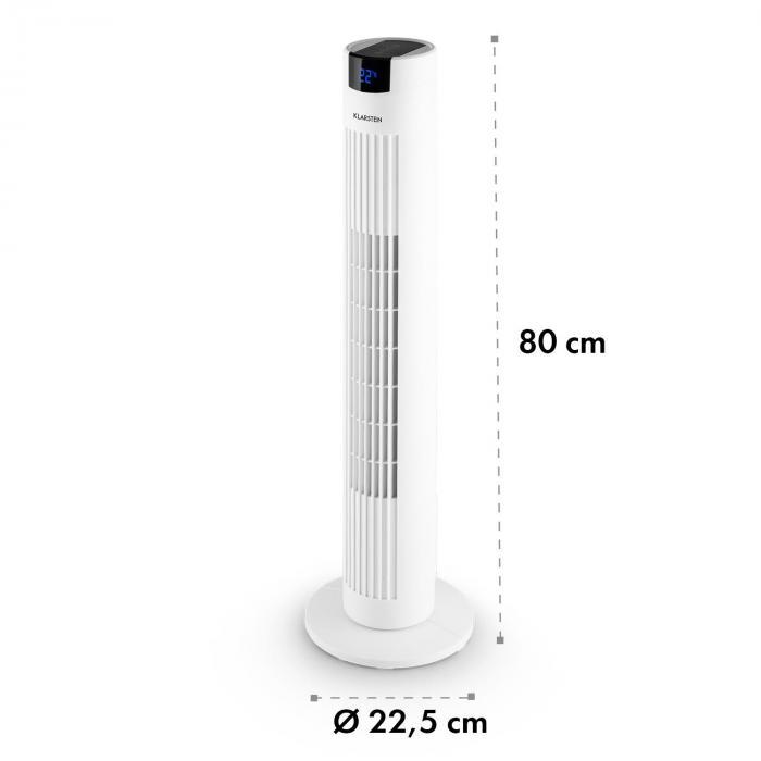 Skyscraper 2G wentylator kolumnowy 40W zapach panel dotykowy pilot zdalnej obsługi biały