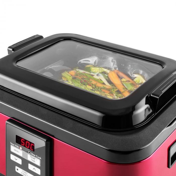 tastemaker sous vide garer slow cooker 6l 550 w edelstahl. Black Bedroom Furniture Sets. Home Design Ideas