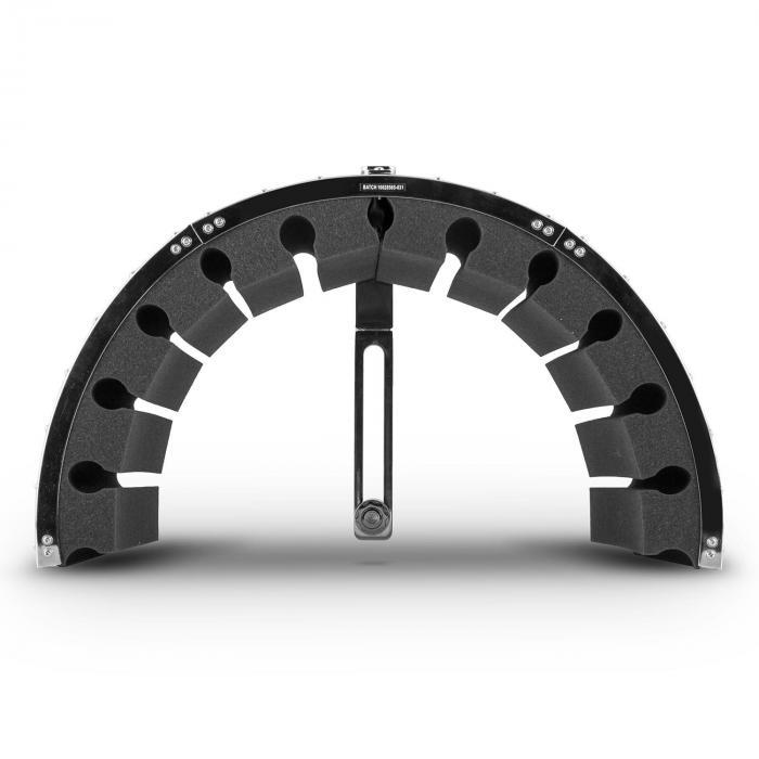 MIC-900WH-LED USB-mikrofonisetti V5 kondensaattori pop-suoja varjo kääntövarsi LED valkoinen