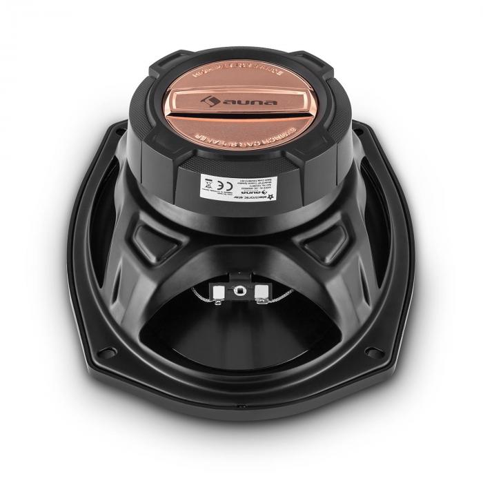CS469 4.0 Car-Hifi-Set | 4-Wege-Koaxial-Lautsprecher | 4-Kanal-Endstufe
