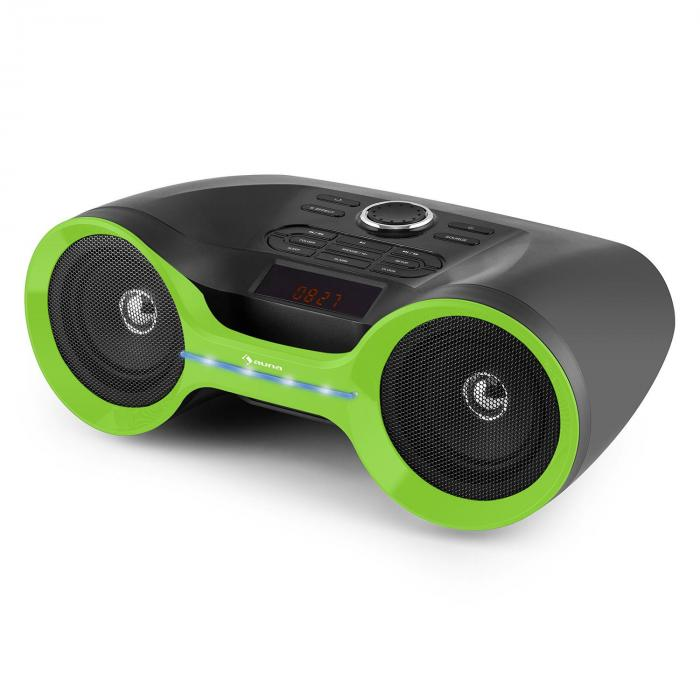 Boombastic bluetooth-bergsprängare USB SD MP3 AUX FM LED