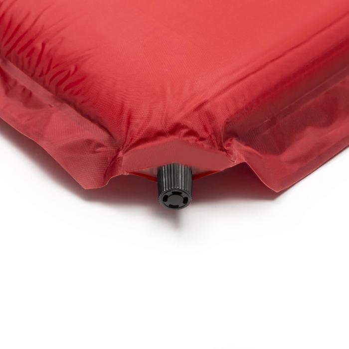 Goodbreak 10 Isomatte Doppel-Luftmatratze 10cm dick Kopfkissen rot