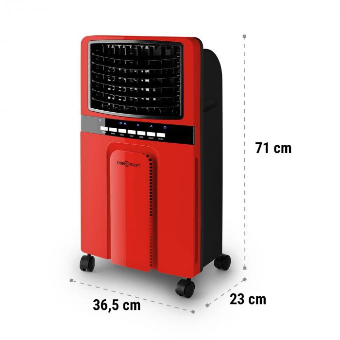 Baltic Red 3-in-1 Air Cooler Fan 65 W 360 m³ / h Remote Control