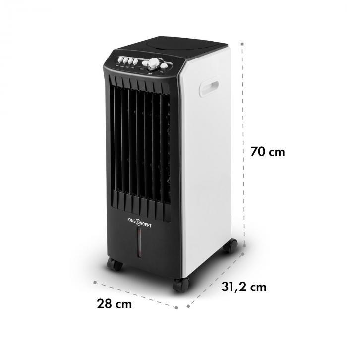 MCH-1 V2 3-en-1 Enfriador de aire Ventilador Humidificador 7 litros 360 m³/h