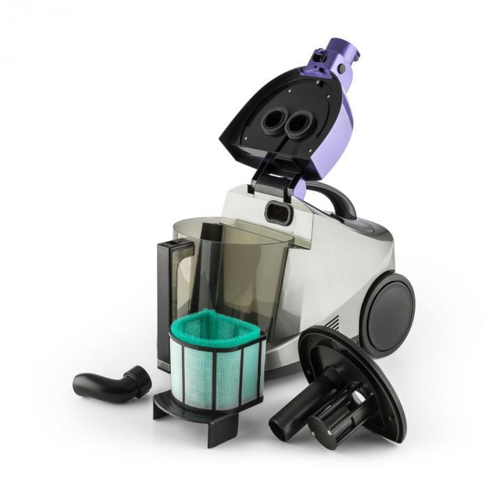 Aquapura Aspiratore ad Acqua Secco/Umido Filtro HEPA 1200W Blu