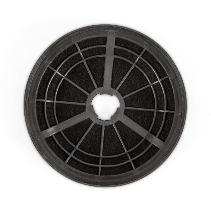 Zola Exaustor Set de Recirculação de Ar 90cm 635m³/h Filtro de Carvão Ativado Preto